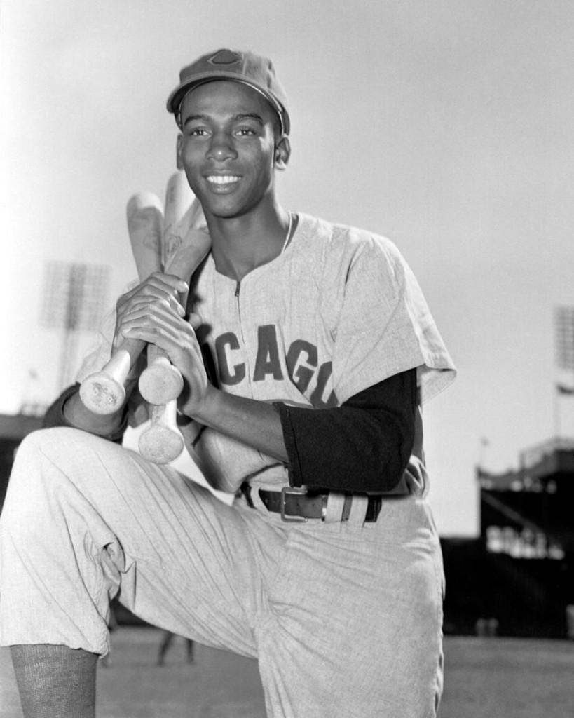 Ernie Banks vintage